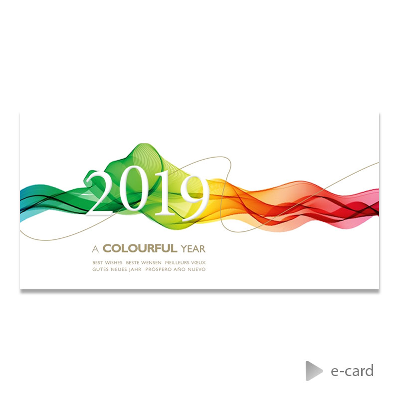 Afbeelding van Zakelijke e-card kleurensluier