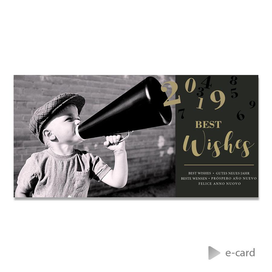 Afbeelding van Zakelijke e-card megafoon