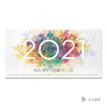 E-card 2021 in kleuren